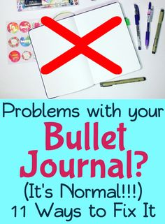 Bullet journals can be tough to figure out sometimes, but with the right information you can learn to overcome any problem! Get tons of bullet journal ideas and inspiration to handle struggles.