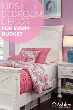 Create a room for your kids that you�ll both love with furniture, accessories and more from Ashley HomeStore. Discover everything from beds and dressers to storage, lighting, rugs and more�all at a price that won�t break the bank. Shop the collection today.
