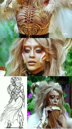 Face Off - Season 08, Episode 14   The Dream Team   Season Finale Winner: Team Darla's characters for the fantasy epic, The Spirits of Eden #TeamLaura