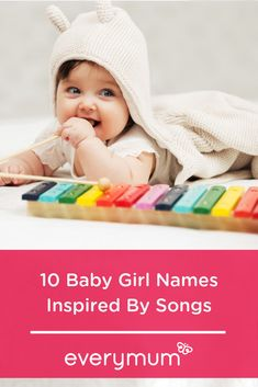 Looking for some really special baby names, inspired by your favourite songs? Well look no further than this gorgeous bunch of names which could be just perfect for your little girl! 10 Lyrical Baby Girl Names Inspired By Songs. Baby Boy Names Strong, Unique Baby Names, Baby Girl Names, Boy Or Girl, Gender Neutral Names, Name Inspiration, Irish Baby, Baby Footprints, Baby Shower Invitations