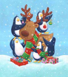 Penguins and Reindeer