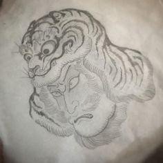 진행중 Stencils, Dragon, Concept, Japan, Tattoos, Instagram Posts, Animals, Tatuajes, Animales