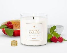 **Creme Brulee LUXE Trio**  It's a trio, meaning there are THREE rings in this amazing candle!  Creamy vanilla and warm sugar tones meld with notes of almond and cocoa powder to form a rich and luscious base, while subtle hints of orange brandy deliver a soft citrus twist to this classic dessert fragrance.  Get yours today at www.jewelscent.com/jillissam.