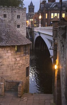 Lendal Bridge in York, England.