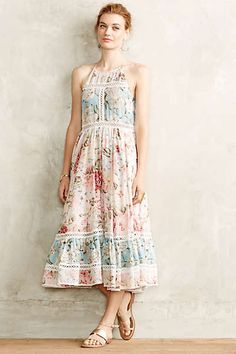 Love the Zimmermann Meadowsweet Maxi Dress on Wantering. Mode Outfits, Dress Outfits, Fall Outfits, Fashion Outfits, Midi Dresses, Long Dresses, Pretty Dresses, Beautiful Dresses, Motif Floral
