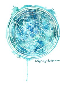 This style, with the reverse transmutation circle pattern.