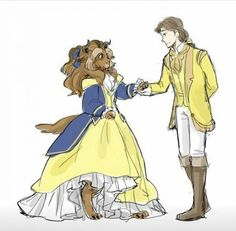 This is an interesting concept. Consider the implications if Disney made the Beast a woman, specifically Belle. This is an interesting concept. Consider the implications if Disney made the Beast a woman, specifically Belle. Disney Pixar, Disney Amor, Disney E Dreamworks, Disney Memes, Disney Characters, Disney Ships, Fictional Characters, Dark Disney, Cute Disney