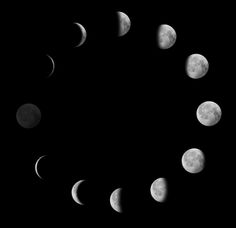 Phases of the moon, in oreo