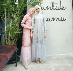 Kebaya Modern Hijab, Kebaya Hijab, Kebaya Dress, Dress Pesta, Dress Brokat Muslim, Muslim Dress, Muslim Fashion, Hijab Fashion, Fashion Dresses
