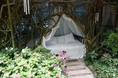 The perfect place to snuggle up with your sweetie or a romance novel.