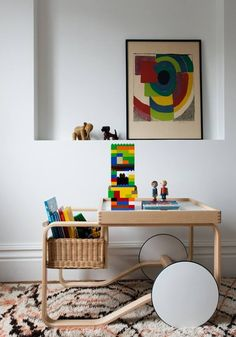 Tea Trolley designed by Alvar Aalto for Artek, is a Finnish design classic with beautiful references to British tea culture as well as Japanese woodwork and architecture. Alvar Aalto created the tea trolley for the World Exhibition of Paris in