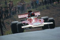1971 Emerson Fittipaldi Lotus German GP at Nurburgring