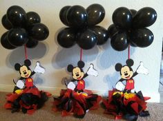 Mickey Mouse centerpieces!