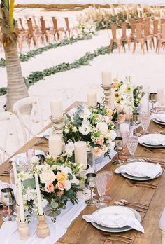 30 Boho Wedding Trends 2020 ❤ boho wedding trends floral table decor rocksea  #weddingforward #wedding #bride