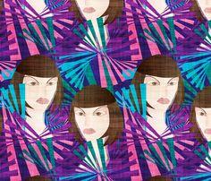 dancers 2 fabric by kociara on Spoonflower - custom fabric