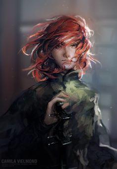Young Kvothe by Camila Vielmond   Fantasy   2D   CGSociety