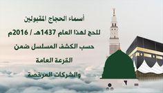 بالاسماء :الأوقاف تعلن المقبولين للحج بغزة للعام الجاري