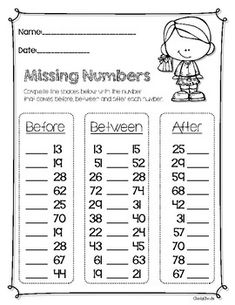 Missing Numbers - Morning Math Activities by Cheeky Cherubs Kindergarten Coloring Pages, Numbers Kindergarten, Kindergarten Math Worksheets, Math Strategies, Math Resources, Math Activities, 12th Maths, Morning Activities, 2nd Grade Math