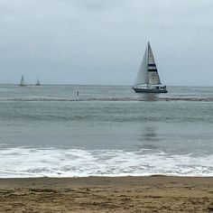 Santa Cruz CA: A cloudy day at the beach is still a day at the beach   by courtfry_
