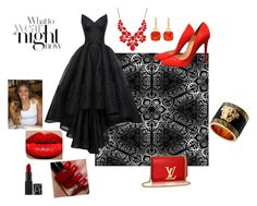 """Blove"" by sweetz85 ❤ liked on Polyvore featuring Zac Posen, Christian Louboutin and Style & Co."