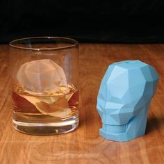 Skull Ice Cube (Don Draper approved)