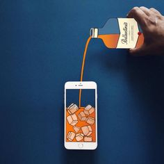 Creative Compositions Using an iPhone and Paper – Fubiz Media