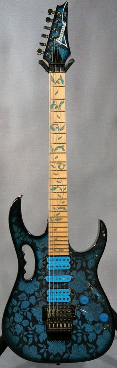 #Prince influenced Ibanez Jem 77BFP #Guitar http://ozmusicreviews.com/christmas-gifts-for-guitarists