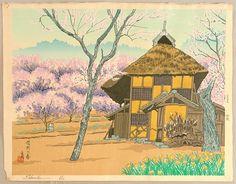 Four Seasons - Spring - Tomikichiro Tokuriki 1902-1999