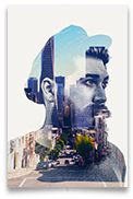 Double Exposure Action – This double exposure action is a photoshop action which uses uses 2 photographs and blends them in to create a very nice double exposure effect. This action is very use...