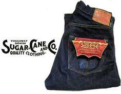 japanese selvedge denim jeans -sugarcane