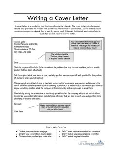 referral cover letter  A referral cover letter is when to