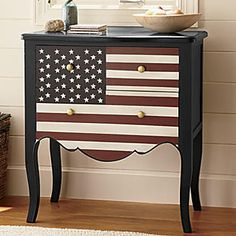 Americana Accent Table from Seventh Avenue ®