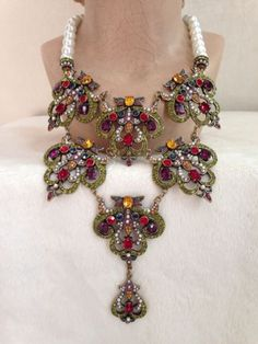 Heidi-Daus-Pearl-BEGUILING-BAROQUE-Necklace-RETIRED-COLOR