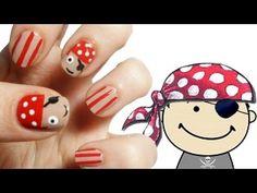 Cute Pirate Nail Art