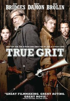 Rent True Grit starring Jeff Bridges and Hailee Steinfeld on DVD and Blu-ray. Get unlimited DVD Movies & TV Shows delivered to your door with no late fees, ever. One month free trial! Cinema Tv, Films Cinema, I Love Cinema, Jeff Bridges, Matt Damon, Good Movies On Netflix, Great Movies, Awesome Movies, Netflix Dvd