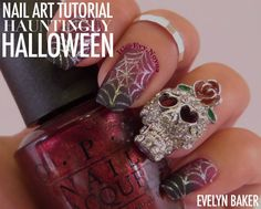 Amazing - This DIY nail design is hauntingly good: notd - Top Fall Crafts for Monday #crafts #DIY  #crafting #crafts #DIY #handmade #homemade #topdailycraftideas Check more at http://boxroundup.com/2016/10/25/top-fall-crafts-monday-crafts-diy/