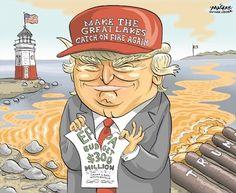 An ironic editorial cartoon essay