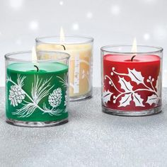 PartyLite have lots of new and fabulous scents for Christmas, perfect to get you and yours feeling all lovely and Christmassy!Bayberry - The classic holiday Pillar Candles, Candle Jars, Candle Holders, Christmas Candle, Christmas Past, Advent, Partylite, Christmas Catalogs, Decorated Jars