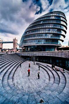 City Hall, London    Architect: Norman Foster
