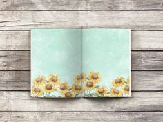 Printable 4x7 journal pages