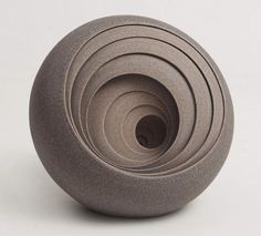 Circular Ceramic Sculptures by Matthew Chambers