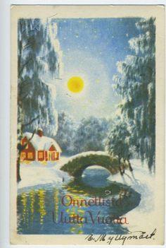 ANDERS OLSSON FINSK TEXT SER 40/10 KV 7 1952 O SIGNERAT på Tradera.