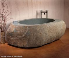 Bathtubs: Natural Bathtub from Stone Forest