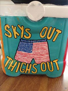 This cooler is so frat-tastic ~
