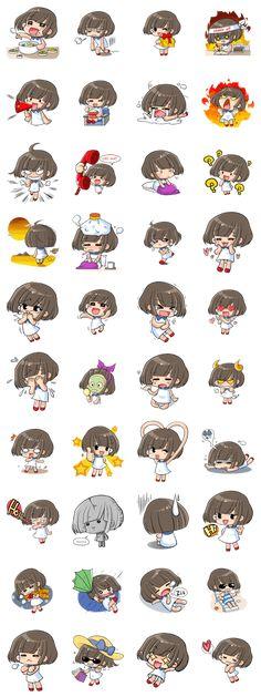 Cutie Ami - LINE Creators' Stickers