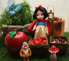 Snow White Party  Tablescape