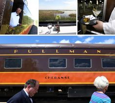 Riding between Chicago and New Orleans in restored Pullman rail cars evokes a chapter of travel history.