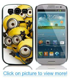 GadgetTown - DESPICABLE ME MINION RUSH Hard Plastic and Aluminum Back Case for Samsung Galaxy S3