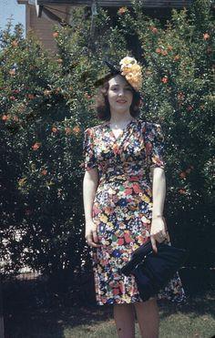 Vintage kodachrome 1940s via javfutura flickr.cim