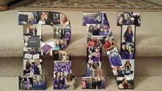 Picture letters for Nursing School grad party